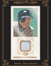 Ichiro Old Mill 2009 Topps T206 Relic Jersey Card