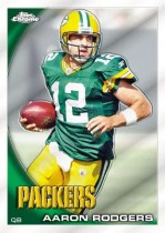 2010 Topps Chrome Aaron Rodgers