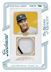 2010 Topps 206 Mickey Mantle Relic Card