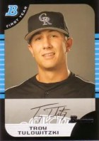 2005 Troy Tulowitzki Bowman RC Card