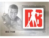 2010 Ringside Boxing Mike Tyson Logo