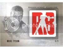 2010 Ringside Boxing Mike Tyson Logo