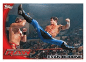 2010 Topps WWE Evan Bourne Base Card