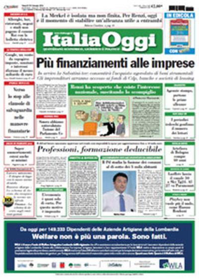 Italia Oggi - 29.01.2016