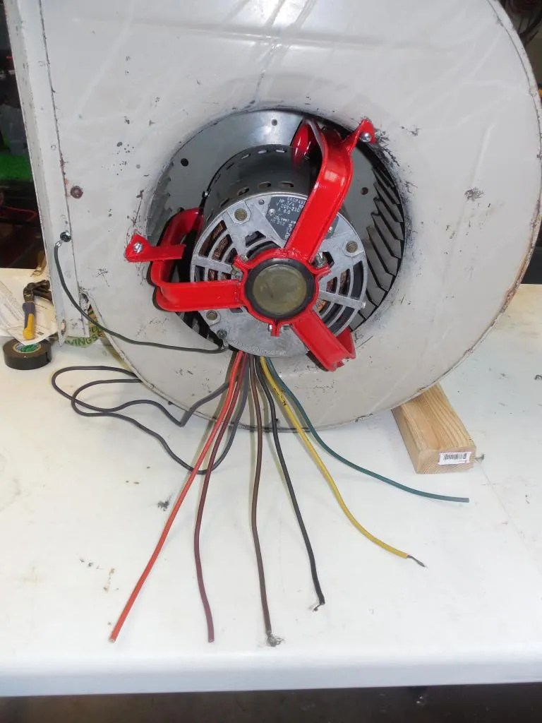 small resolution of blower wiring for fan the garage journal board