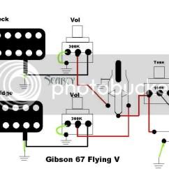 Gibson Guitar Pickup Wiring Diagrams 2001 Dodge Ram Diagram Trailer Flying V Info The Dean Michael Schenker Six String Bliss Rh Sixstringbliss Proboards Com Schematic Seymour Duncan