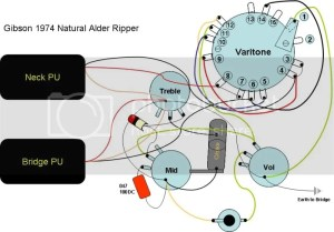 Gibson Ripper schematic  Gibson Brands Forums