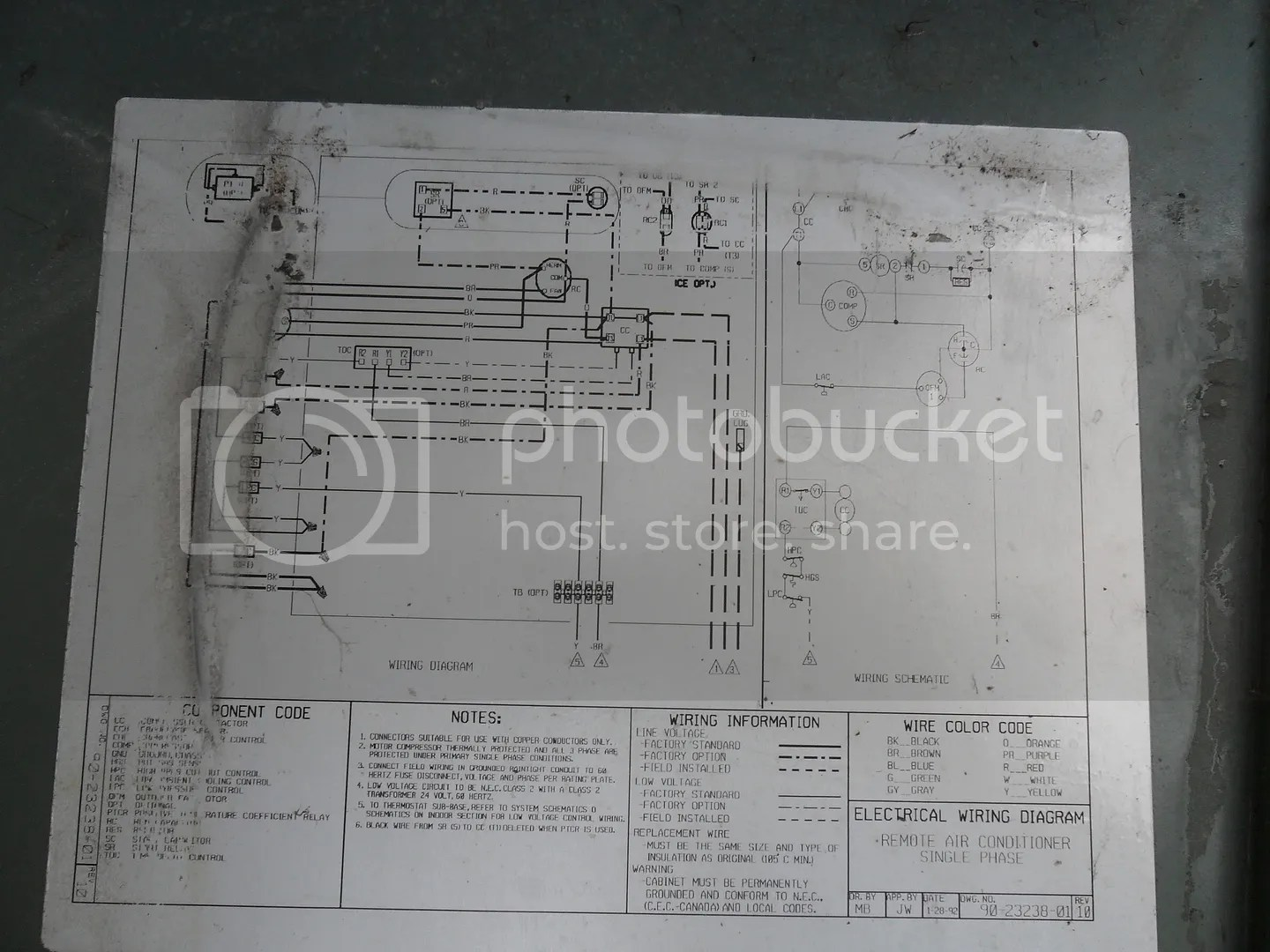 rheem air conditioner thermostat wiring diagram ge refrigerator electrical 47