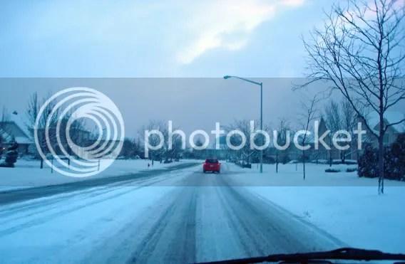Snowy Commute