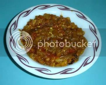 Eggplant Lentil Stew