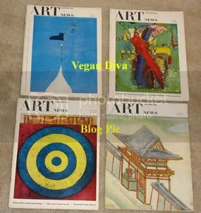 Vintage Art News Magazines