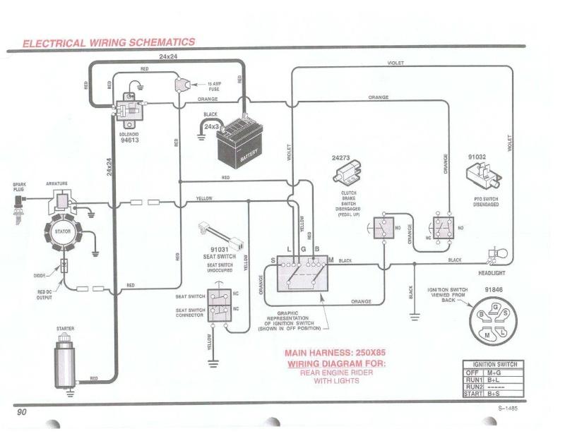 18 hp vanguard engine wiring diagram