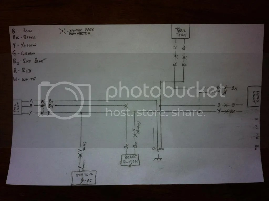 trail tech light switch wiring diagram 1979 chevy truck 125 200cc 2012 wr125 144 with questions pipe and electric cafe a trailtech enduranceii computer img