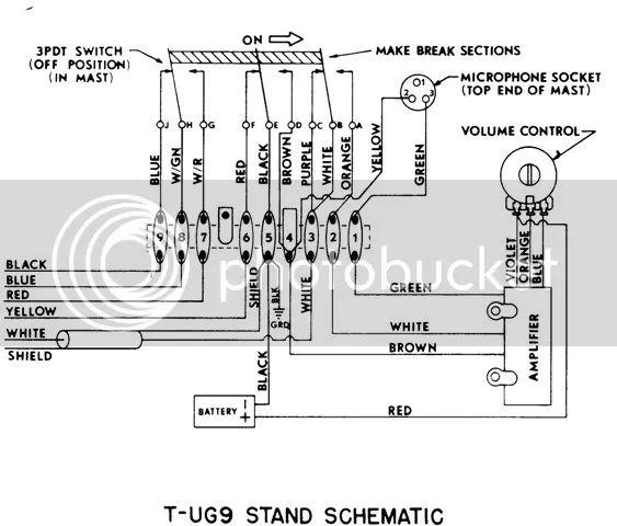 d104 microphone wiring diagram