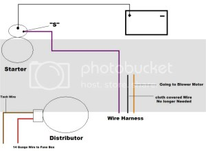 Starter Wiring  Page 2  Chevelle Tech