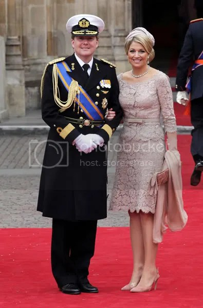 HM Crown Prince Willem-Alexander and Princess Maxima of the Netherlands