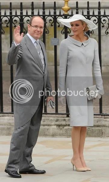 HM e Albert of Monaco and Charlene Wittstock  Prince Albert of Monaco and Charlene Wittstock