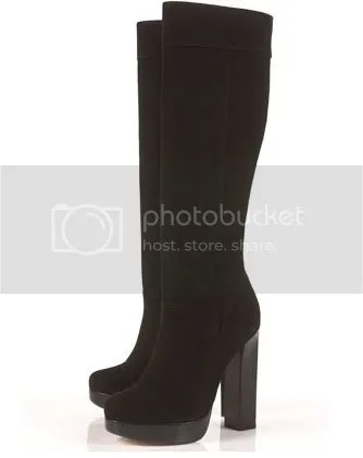 Topshop Knee High Bevan Seventies Boots