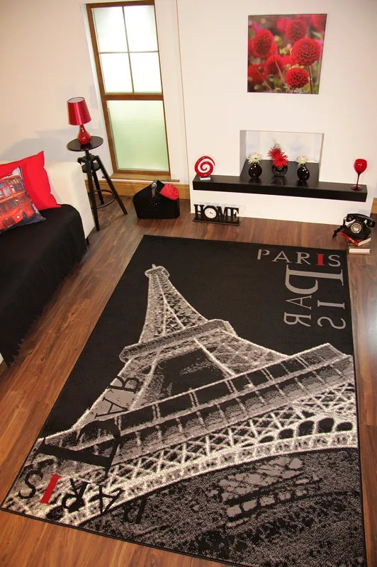 eiffel tower rug  Home Decor