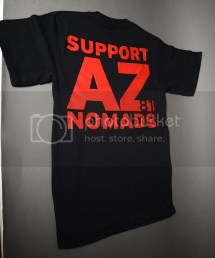 Hells Angels Support 81 Lady Shirt Black Nomads - Year of