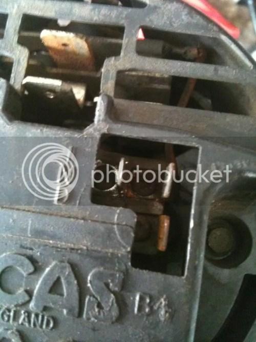 small resolution of alternator wiring help 69 mgb pics inside mgb gt forum mg mgb lucas alternator wiring diagram