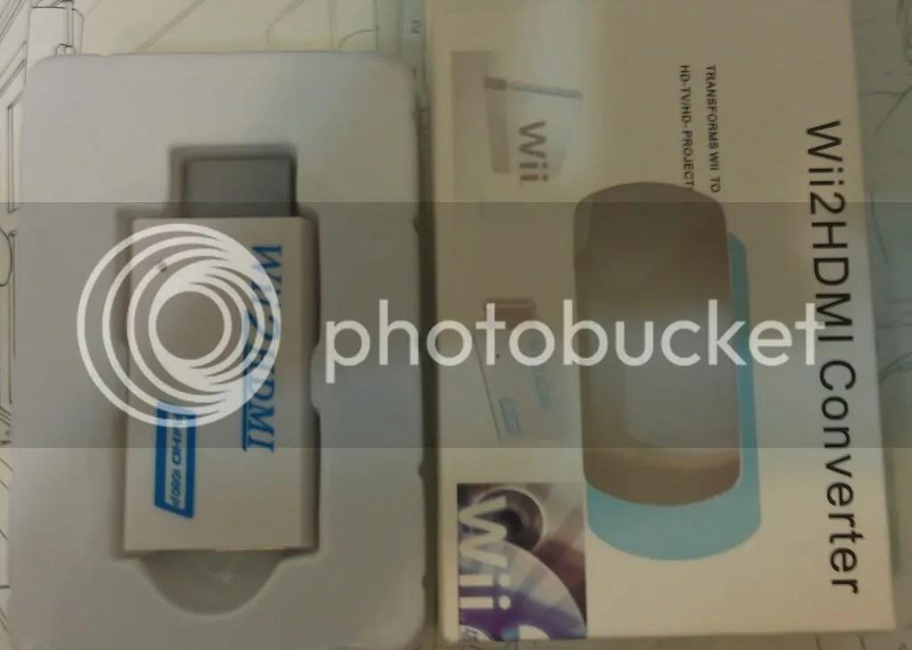 【心得】Wii2HDMI開箱+使用心得 @Wii 哈啦板 - 巴哈姆特