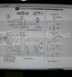 i am seeking a wiring diagram for a honeywell ra832a1066 control i need to find out how to connect it to a modine [ 1024 x 768 Pixel ]