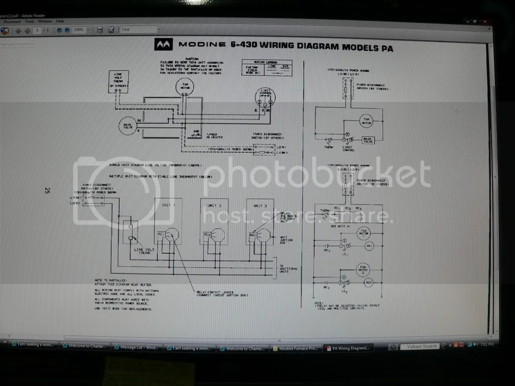 hight resolution of i am seeking a wiring diagram for a honeywell ra832a1066 control i need to find out how to connect it to a modine