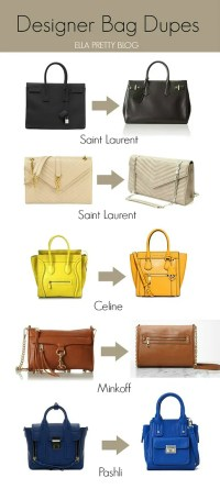Ella Pretty Blog: Designer Bag Dupes - Celine Luggage Tote ...
