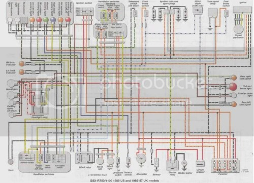small resolution of gsxr 750 wiring diagram wiring diagram portal 2006 gsxr 600 ignition wiring diagram 2000 gsxr 750