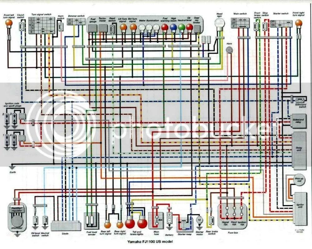 medium resolution of fj1100 wiring diagram wiring diagram post 1985 fj1100 wiring diagram fj1100 wiring diagram