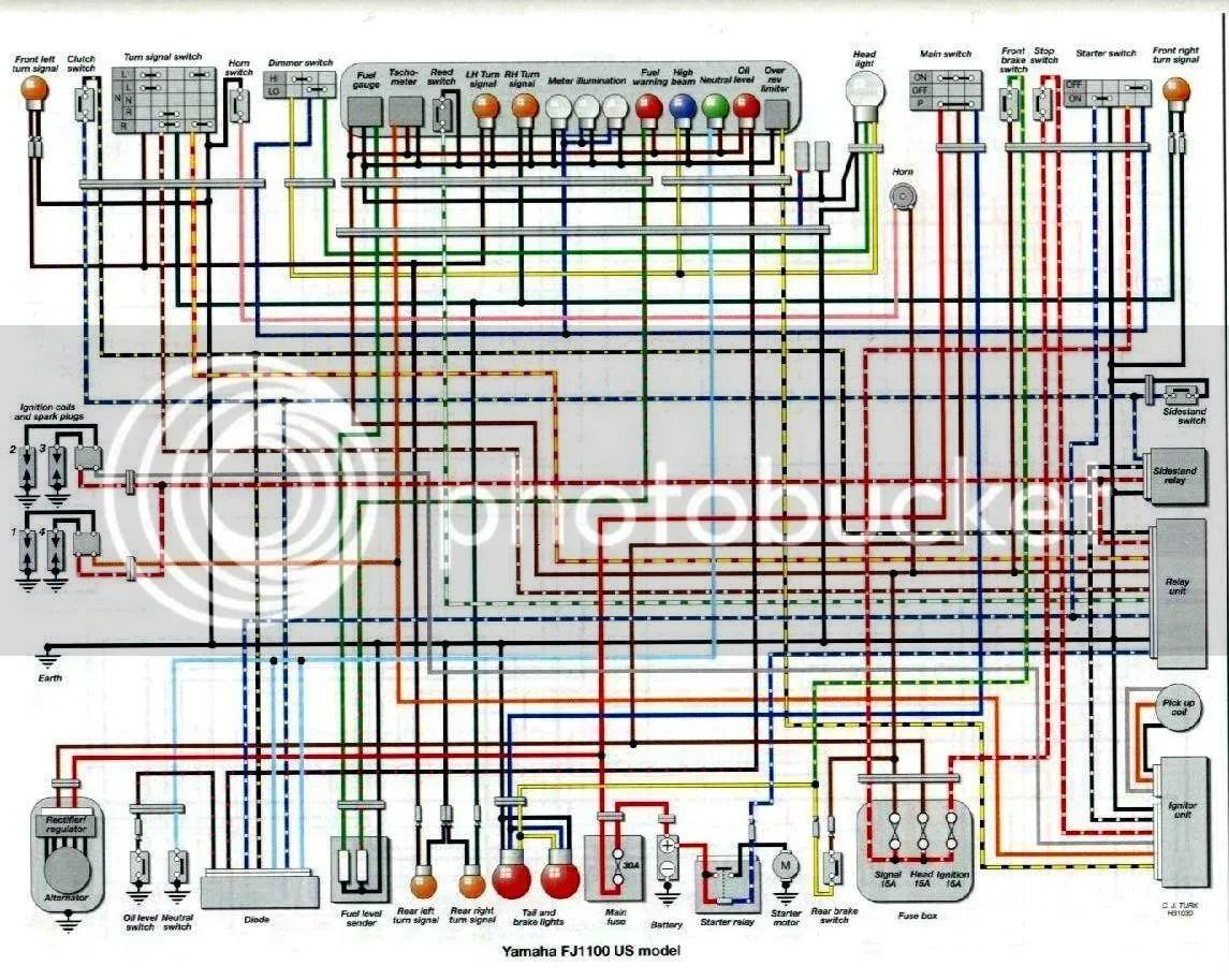 hight resolution of fj1100 wiring diagram wiring diagram post 1985 fj1100 wiring diagram fj1100 wiring diagram