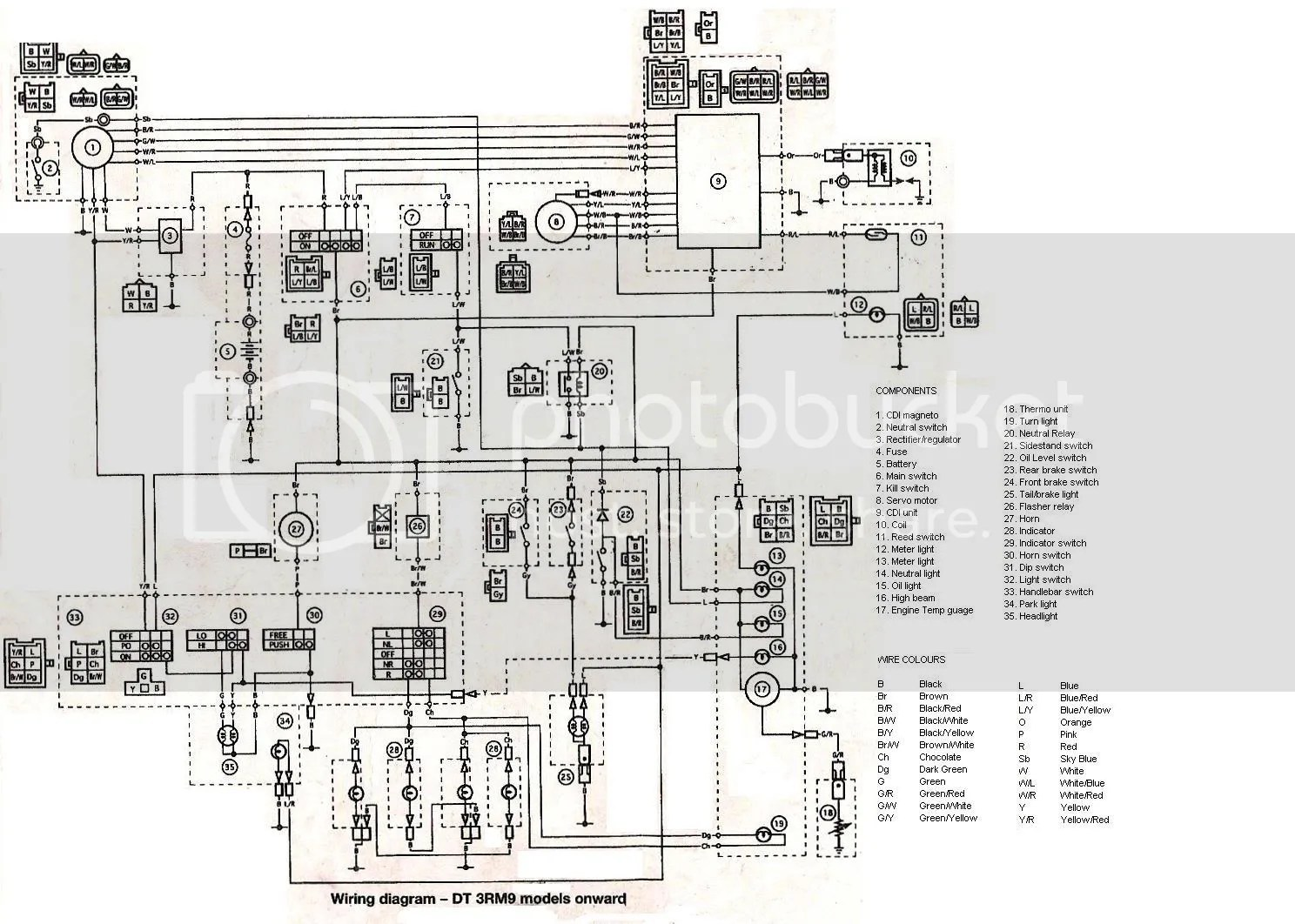 small resolution of whizzer wiring diagram