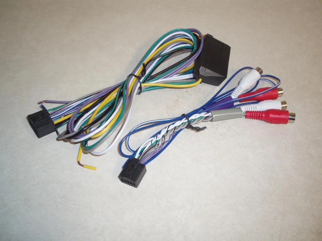 alpine ktp 445u power pack wiring diagram viper alarm remote start harness 2 schematic library new oem wire and rca harnesses for