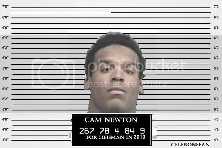 Cam Newton for heisman