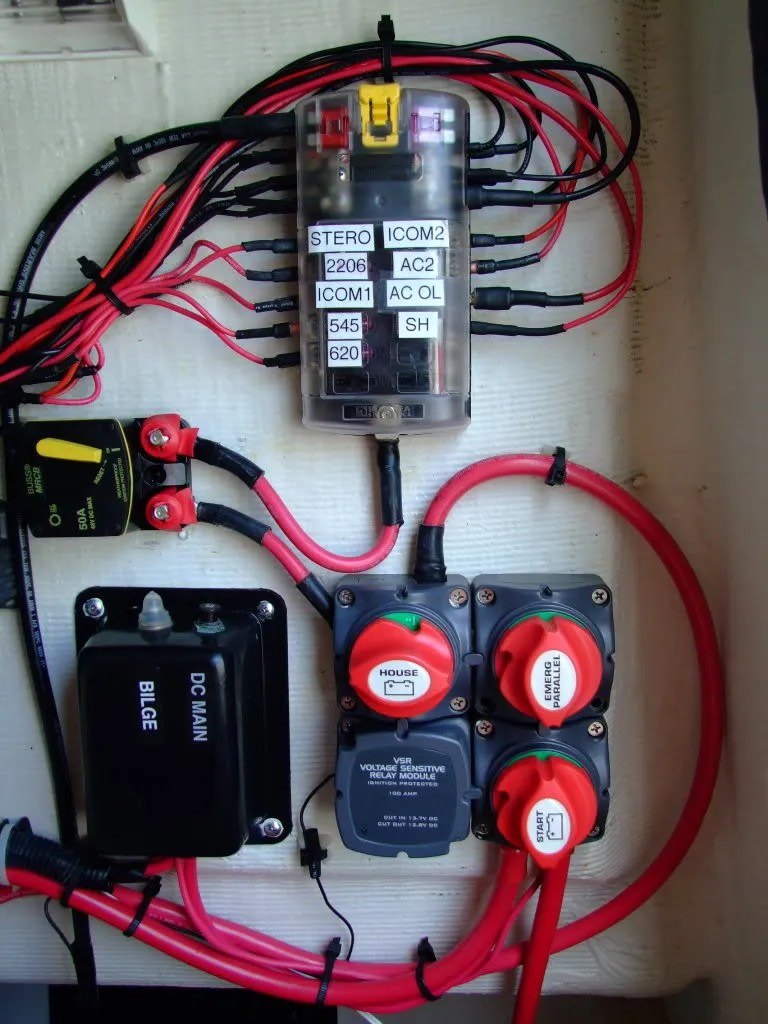 wiring review request blue sea systems acr installation rh continuouswave com add a blue sea battery wiring diagram blue sea fuse block install [ 768 x 1024 Pixel ]
