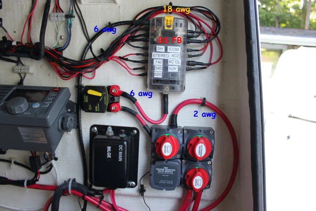 how to wire an isolator switch wiring diagram for seven way trailer plug using a dual battery charger and bep cluster - the hull truth boating ...