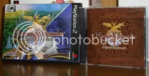 Caixas do DVD e do CD