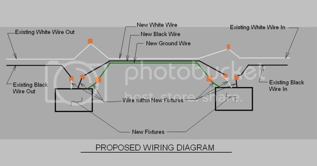 Fluorescent Light Wiring Diagram Explanation, Fluorescent