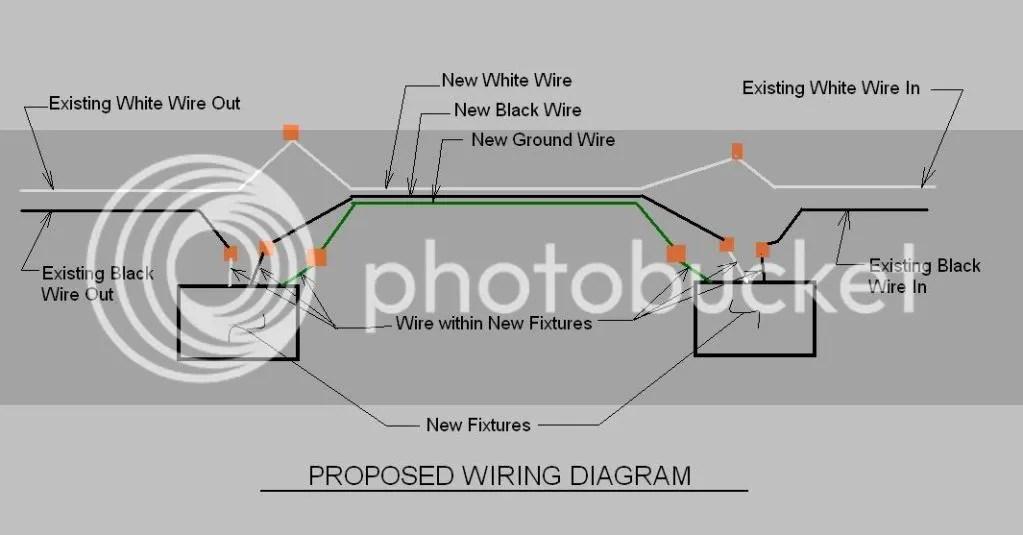 Fluorescent Light Wiring Diagram Explanation, Fluorescent