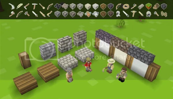 Timber and Stone - Graphical Representation