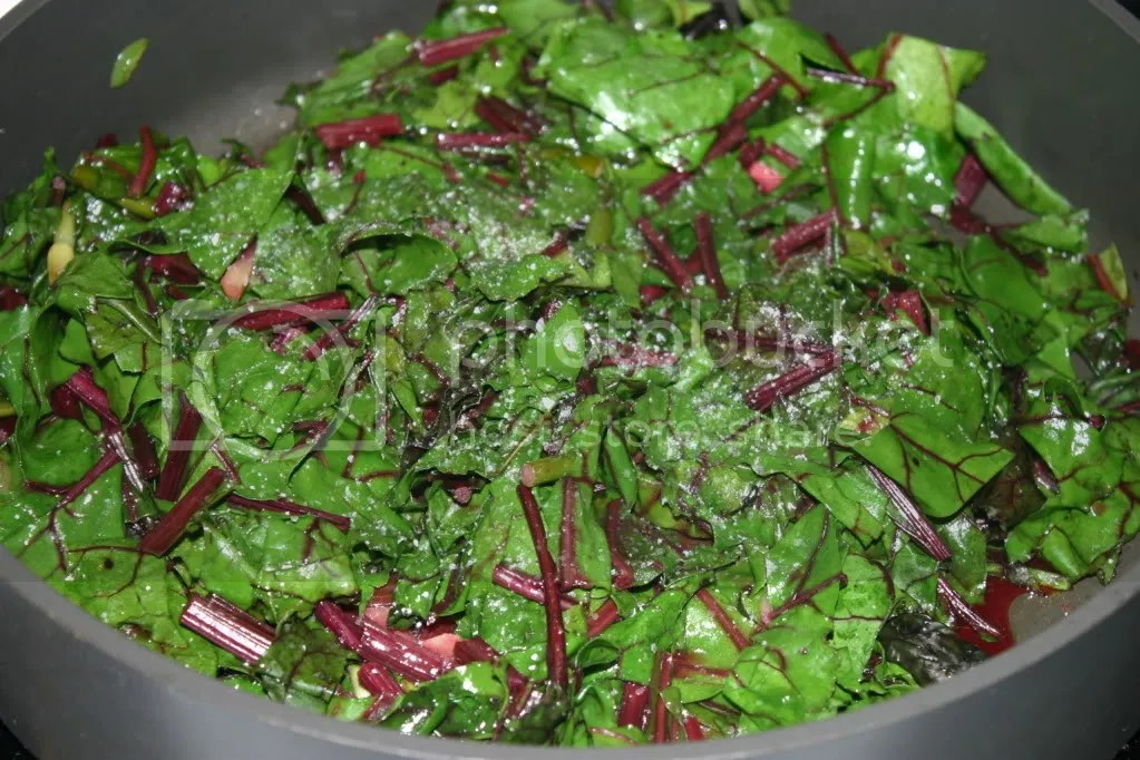 Beet Greens with Ginger, Chile, and Garlic Scapes | The Wicked ...