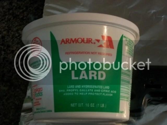 Image result for barrel of lard