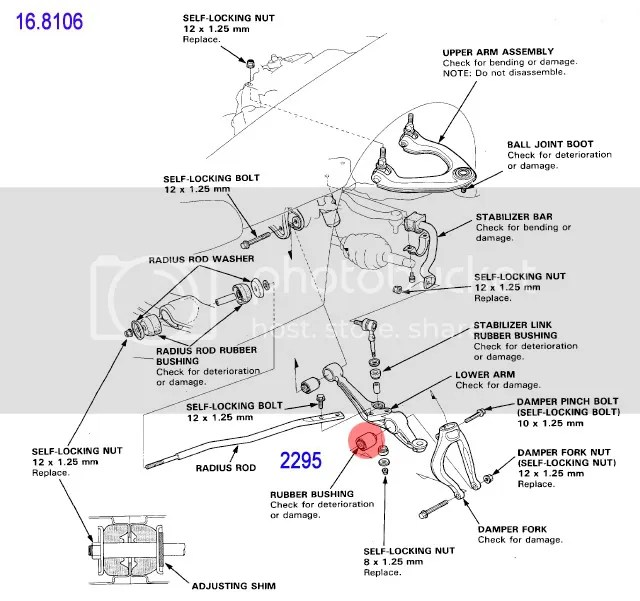 Honda Prelude Front Suspension Diagram Html