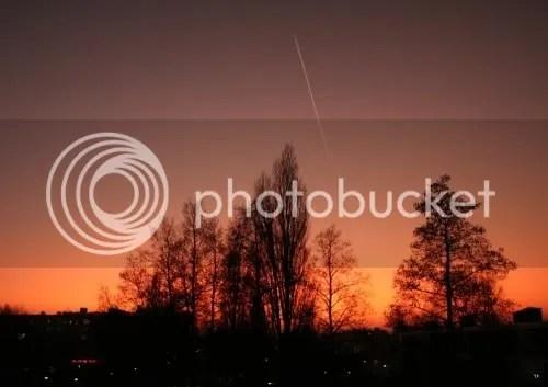 our evening sky