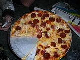 Pizza at the Rainbow