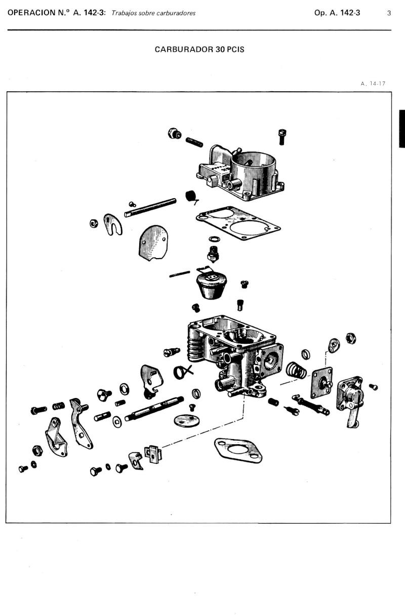Disegno Esploso Carburatore