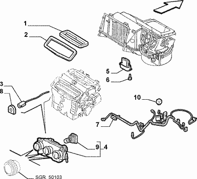 resistance de chauffage 156