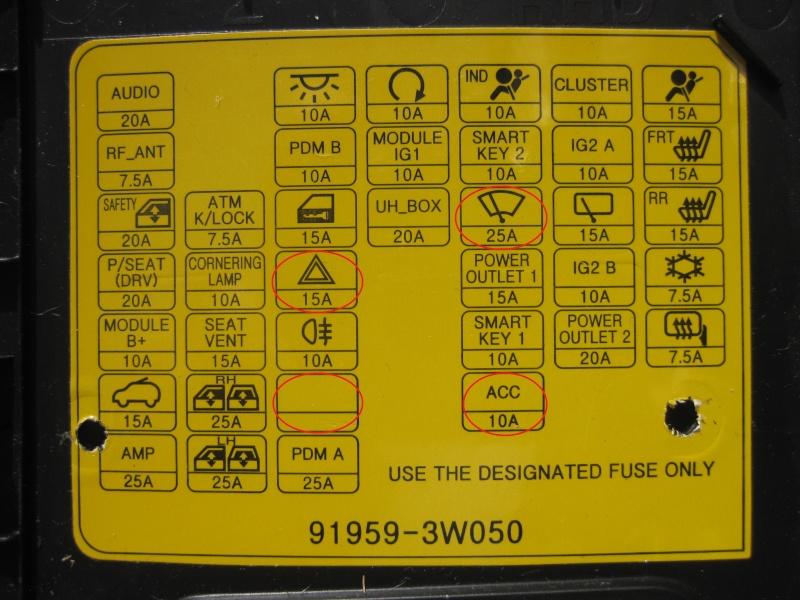 Kia Sorento Besides Kia Sportage Fuse Box Diagram On 2012 Kia Sorento