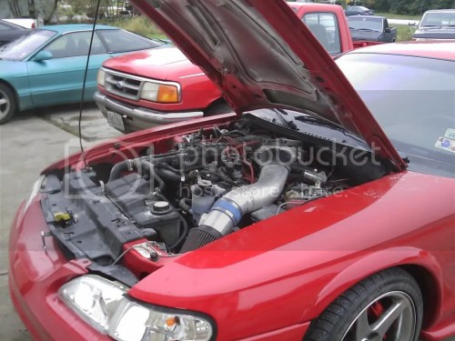 small resolution of 2007 supercharged 5 4l mustang v8 inside 1997 mustang engine bay